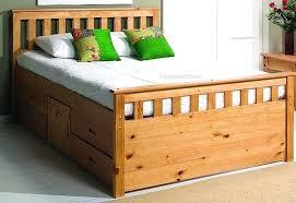 Santos Antique Pine Bed Frame T4taharihome Page 71 Black Sleigh Bed Frame Slat Bed Frame