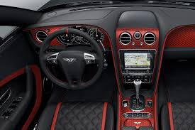 bentley continental interior 2018 bentley continental gt black speed revealed motor