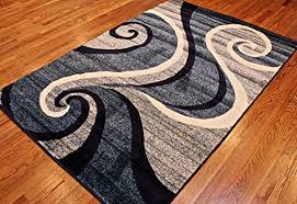 Light Gray Area Rug New Summit 32swirl Blue Navy White Light Gray Area Rug Abstract