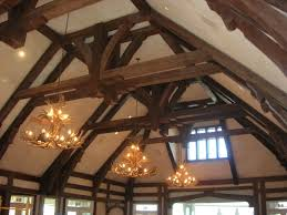 gallery beams and timber hardwood flooring evergreen colorado