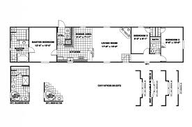 cool 18 x 80 mobile home floor plans new home plans design