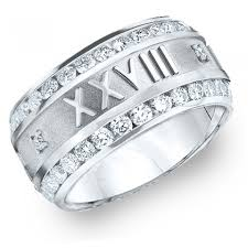 numeral ring custom numeral ring diamond numeral ring
