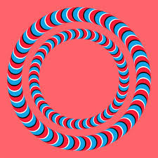 illusions coloring pages optical illusions rotating rings illusions