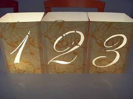 table numbers for wedding wedding table numbers with illuminated numbers and monogram diy