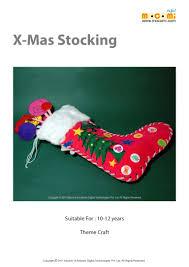 homemade christmas stocking craft u2013 mocomi kids