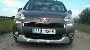 peugeot partner test peugeot partner tepee outdoor 1 6 hdi automotonews cz youtube