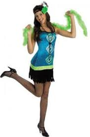 Popular Halloween Costumes Girls Flapper Costume Girls Ruby Red Flapper Costume U0027s