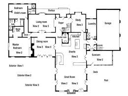house plans with portico residential floor plans awesome residential house plans