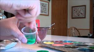 how to make homemade water color paints youtube