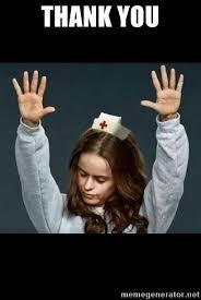 Nurse Meme Generator - thank you thank you jesus nurse meme generator