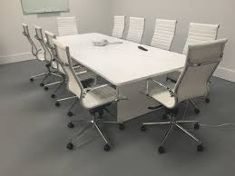 Large Conference Table 10 Foot Slab Base Modern Conference Table Direct Office Solutions