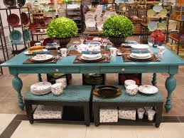 Distressed Dining Room Tables by Projects Plenty The Turquoise Dining Table