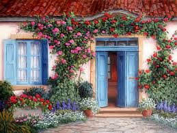 Cute House by Cute House With Flowers Full Hd Wallpaper And Background