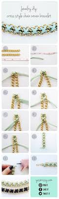 woven bracelet with cross images Diy bracelet cross style chain woven bracelet jpg