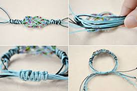 string knot bracelet images How to make a sailor knot friendship bracelet with pony beads jpg