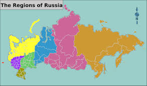 Russia Map Russian Regions Map Regions Of Russia Map Eastern Europe Europe