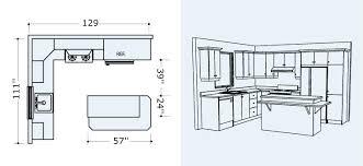 plan cuisine l plan cuisine en l 3d gratuit with professionnelle normes amazing