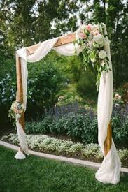 wedding arches to purchase meets rustic backyard wedding rustic backyard