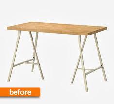 My Gold Desk Before U0026 After A Glamorous Gold Leaf Desk Makeover For 50