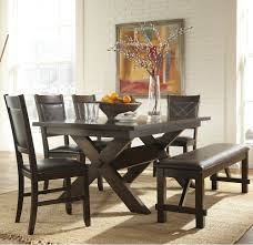 Kitchen Table Sets With Bench And Chairs by Espresso Kitchen Table Kitchens Design