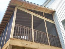 exposed rafters porch