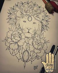 the 25 best lion thigh tattoo ideas on pinterest half sleeve