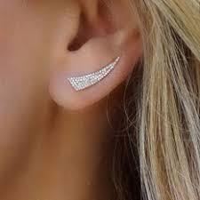 jual ear cuff jual wanita fashion anting moonstone terbaru lazada co id