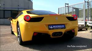 458 italia sound yellow 458 italia sound lovely downshifts 1080p hd
