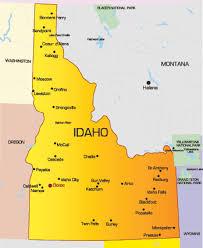 map of idaho cities idaho cities map map