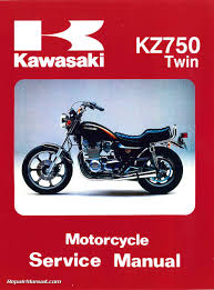 1979 1984 kawasaki kz750 twin cylinder motorcycle repair manual