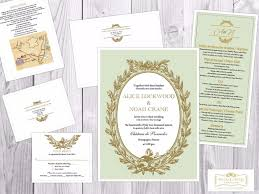 invitations wedding stationery yorkville wedluxe wedding