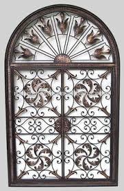 tuscan garden gate wall grille panel metal art grill tuscan