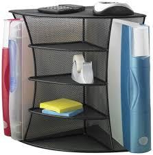 Corner Shelf Desk The Two Best Cubicle Corner Shelves Cube Decor Zone