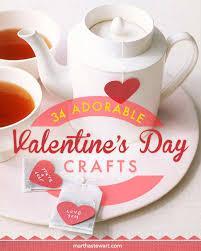 37 valentine u0027s day crafts to make from the heart martha stewart