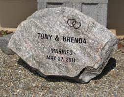 memorial rocks rock and boulder memorials southeast michigan