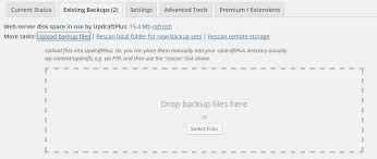 Should I Put My Resume In A Folder How Do I Restore My Site With Updraftplus Updraftplus