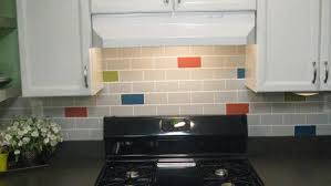 how to paint kitchen tile backsplash diy subway tile backsplash knock it the live well network