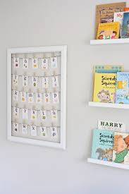 Appealing Letter K Wall Decor Cute Ideas For Nursery Walls Love The Book Display And Framed