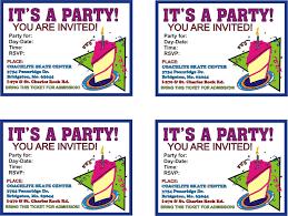 free birthday invitations u2013 gangcraft net