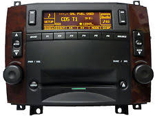 avec radio cadillac cts stereo parts accessories ebay