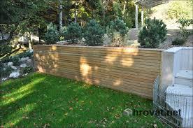 mizarstvo hrovat wooden garden fence ograja rakitna http www