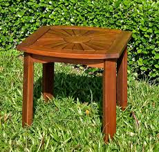 Square Patio Table by Patio Side Tables And End Tables Organize It