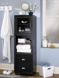 Black Storage Cabinet With Doors Cabinets Unique Bathroom Storage Cabinets Design Bathroom Storage