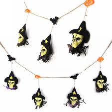 Halloween Paper Garland by Vintage Outdoor Halloween Decoration Paper Halloween Garland