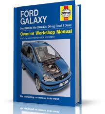 ford galaxy 2000 2006 instrukcja napraw haynes