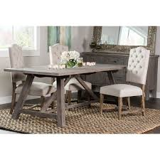 overstock dining room tables kosas home hand crafted aubrey ash reclaimed pine 86 inch dining
