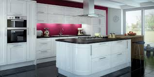 furniture design glossy white kitchen cabinets