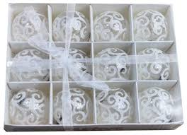 12pc transparent white swirl clear shatterproof