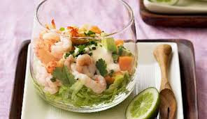 Elegant Dinner Party Menu Tropical Seafood Cocktail Serve These As An Elegant Dinner Party