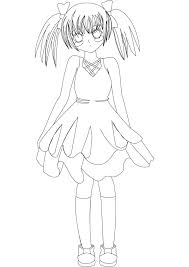 nice anime coloring pages printable kids 487 unknown